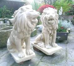 lions statues for sale lion garden ornaments 200years club