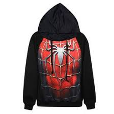stylish long sleeve bat man pattern spliced thicken zip up hoodie