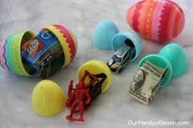 fillable easter eggs 20 non candy easter egg filler ideas ourfamilyofseven