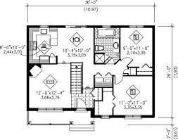 cabin style house plan 2 beds 100 baths 900 sqft plan 18 327 tiny