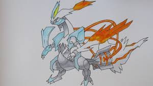 white kyurem how to draw no 646 white kyurem