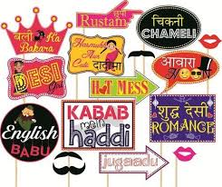 photo props party props set of 16 wedding party themes at rs 199 set