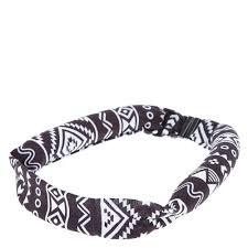 claires headbands aztec print heatless curling headband s us