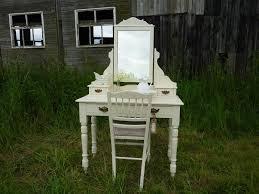victorian antique dressing table u0026 chair painted vintage antique