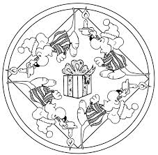 1284 christmas coloring pages images coloring