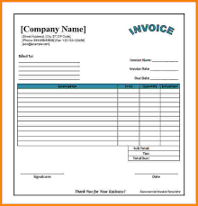 Free Invoice Templates Excel 10 Invoice Template Excel Free Paid Invoice