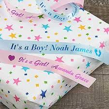personalized ribbon personalized ribbon for baby shower new baby gift