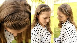 how to 4 diy braided headbands braidsandstyles12 youtube