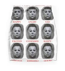 the many faces of michael myers halloween