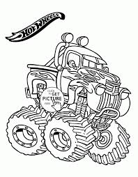 coloring download wheels monster truck coloring pages