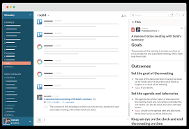 Evernote Meeting Notes Template by Introducing Slack And Evernote Integrations Solid