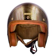 leather motorcycle helmet hedonist helmet gladiator