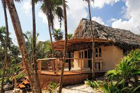 beach casita for rent in tulum glamping in mexico