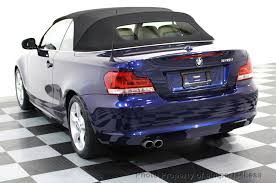2008 bmw 1 series convertible 2013 used bmw 1 series certified 128i convertible premium