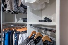 closetmaid supplies array of luxury closet systems for custom