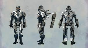 vittorio astone super armor concept three studies