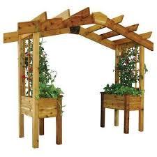 Pre Built Pergolas by Pergolas Sheds Garages U0026 Outdoor Storage The Home Depot