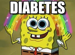 Meme Diabetes - diabetes imagination spongebob meme on memegen