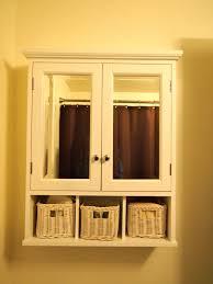 white wood bathroom wall cabinet single door mirror ebay benevola