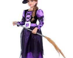 Girls Witch Halloween Costumes Halloween Witch Costume Witch Dress Teeny Witch