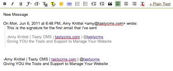 how to using canned responses for your email signature in gmail