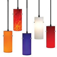 cylindrical ceiling light fixture cylinder case glass shade for track pendant light ofg10