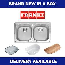 franke sink accessories chopping board franke aurora double bowl sink pfx620b