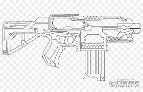 Arme à feu Nerf Blaster livre de Coloriage Pistolet  Arme jouet