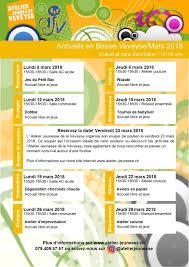 jeux de cuisine libre gratuit programme de l ajv à bossonnens pour le mois de mars 2018 commune