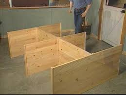Platform Bed Frame Diy by Best 25 Tall Bed Frame Ideas On Pinterest Pallet Platform Bed