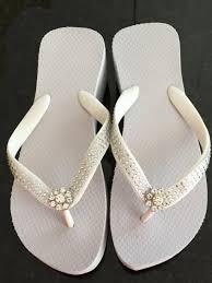 wedding shoes chagne bridal flip flops wedding flip flops wedges wedding