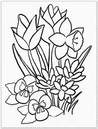 flowers coloring pages print creativemove me