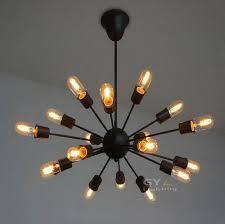 decor filament light bulb chandelier edison bulb chandelier