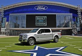 ford unveils f 150 dallas cowboys limited edition truck w video