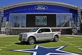 ford unveils f 150 dallas cowboys limited edition truck w video