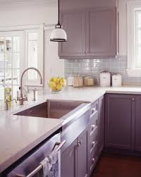 purple cabinets kitchen 7 purple kitchens that dared to dream painted island purple
