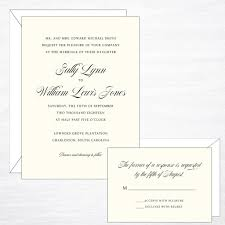 Shop Invitation Card Timeless Wedding Invitation Suite U2013 Dodeline Design