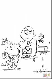 incredible charlie brown characters coloring pages with snoopy