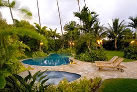 tropical backyard landscaping ideas home design inspirations
