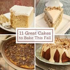 thanksgiving cake recipes