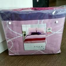 Akemi Bed Linen - queen size bed sheet fitted sheet set akemi brand home