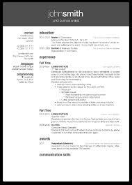 Resum Cv Latex Template Resume Resume For Your Job Application