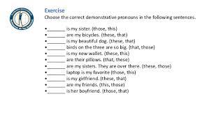 all worksheets demonstrative adjectives worksheets printable