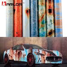 matte flat black vinyl car wrap sticker decal sheet film bubble free 2m 20m 152cm matte rust car wrap vinyl film auto wrapping