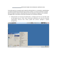 a microsoft windows 2003 server manual