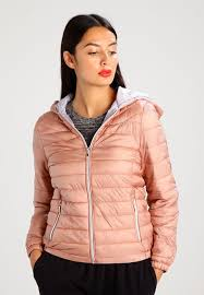 new look lightweight puffer light jacket light pink zalando