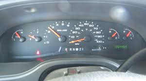 2006 ford econoline cargo van instrument cluster dallas fort worth