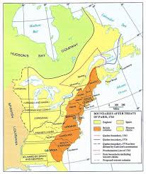 Virginia Colony Map by The Thirteen American Colonies Mpas