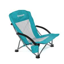 Low Beach Chair Amazon Com Kingcamp Low Sling Beach Camping Folding Chair With