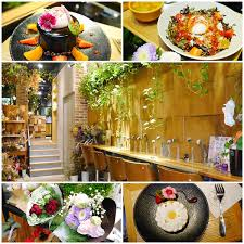 la cuisine de ma m鑽e 台北美食 fuji flower cafe 餐點加入花朵擺飾夢幻花草系咖啡廳 免費